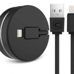 Cablu usb retractabil pentru Apple iPhone 6, 6S, 7
