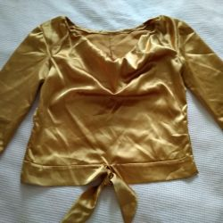 Gold blouse 42-44р