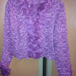 New Openwork blouse POLAND for girls with shuttlecocks