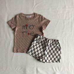 Noul tricou și pantaloni scurți 78- 90,88-100 cm