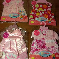 Clothes for Baby Born dolls