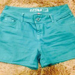 Шорты джинсовые размер М