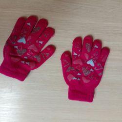 Χειμερινά γάντια για παιδιά, μωρό.