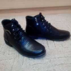 Boots leather new