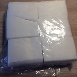 Lint-free wipes (600 pcs)  Lint-free napkin