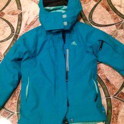 Adidas ski jacket 42-44; send by mail