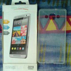 Клип-кейс из силикона на Samsung Galaxy A5