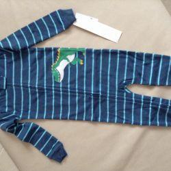 Carters 2 yaşında combo kayma pijamaları