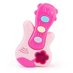 Pink musical guitar for the little ones