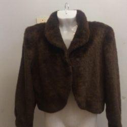 Fur coat art used fur 42/44