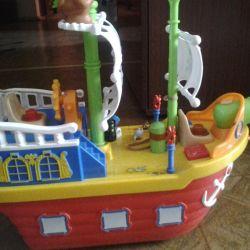 Πειρατικό σκάφος, βραβείο Fisher