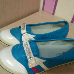 New moccasins 34 size