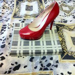 Shoes, 38р skin, varnish, not B \ U