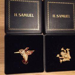 Καρφίτσες H.Samuel (Αγγλία)