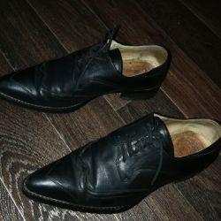 Boots loffers shoes genuine leather black