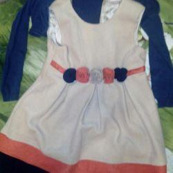 Dress cushy stylish for girl130 р