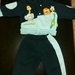 Κοστούμι για ένα αγόρι 1 έτος