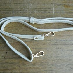 Strap from bag