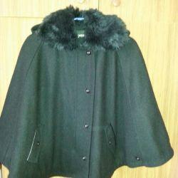Coat-poncho