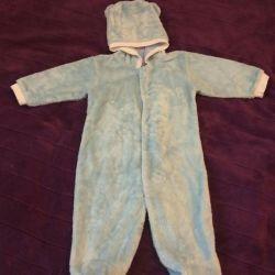 Jachetă ușoară pentru copii + papucei