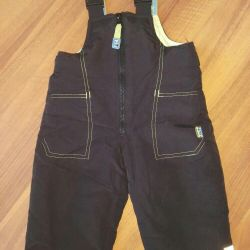 Semi-overalls, children's pants