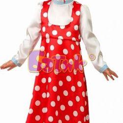 Masha's carnival costume