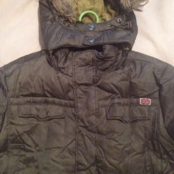 Down jacket for a boy elongated Sella new