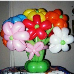 Bir sürü balon. Tatil dekorasyon