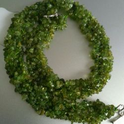 Chrysolite necklace