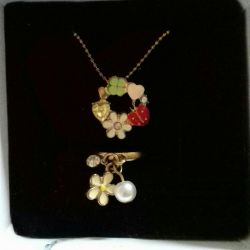 Very nice gentle ring suspension set for