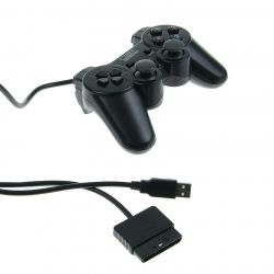 Joystick Gamepad PS2 PS3 PC USB new what my te