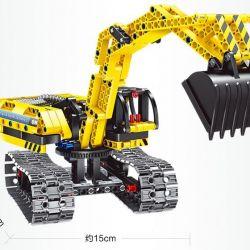 Умные игрушки. Конструктор 2в1 Экскаватор/Робот