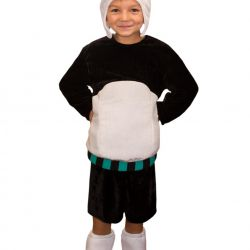 Children's carnival costume Panda