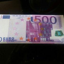 Envelope wallet for money