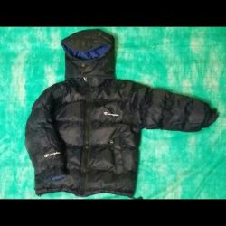 Winter down jacket double sided