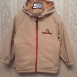 Куртка деми 104-110
