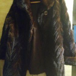 Vizon ceket (kısa kürk) boyutu 48-50