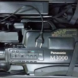 профессиональная видеокамера Panasonic M3000 VHS