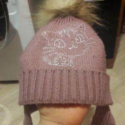 Wool cap. Winter.