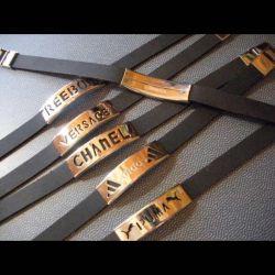Brățară de metal cauciuc curea New Simferopol