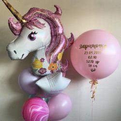 Balloons, unicorn