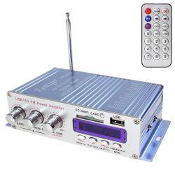 Усилитель + приeмник FM + USB + SD + пульт ду
