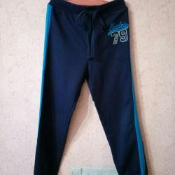 Pants for physical education