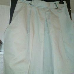 New beige skirt 44-46