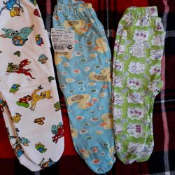 Pants for newborn baby slippers