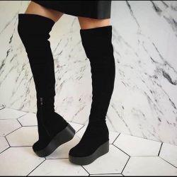 Cizme cizme de pe platformă