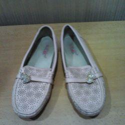 Moccasin ayakkabı