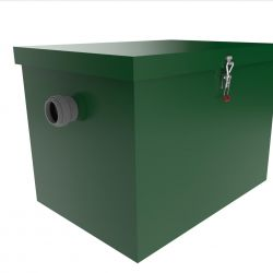 Grease trap under the sink. Grease trap industrial