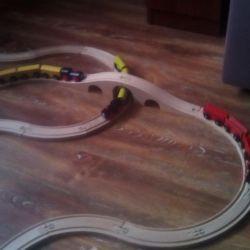 Σχεδιαστής Παιδική ξύλινη διαπραγμάτευση (Iron Road)