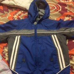 Курточка на хлопчика 110-116см
